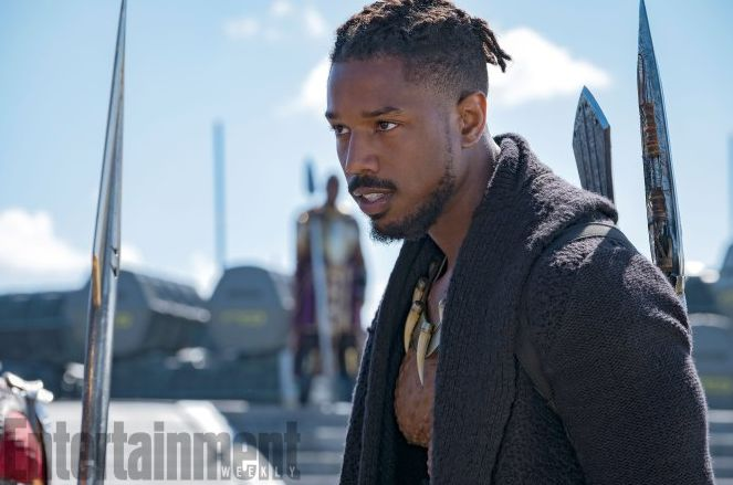 Michael B. Jordan as N'Jadaka / Erik Killmonger