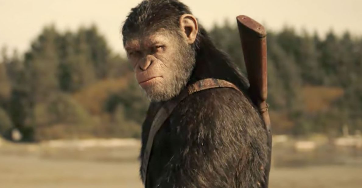 "Andy Serkis as Caesar in ""War for the Planet of the Apes"""