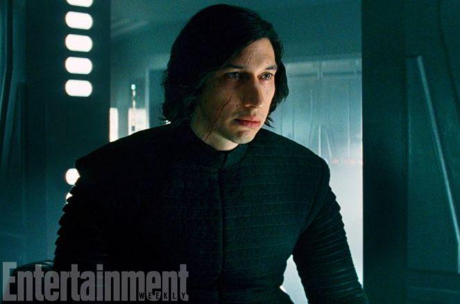Adam Driver as Kylo Ren, in retreat  The Last Jedi will brin
