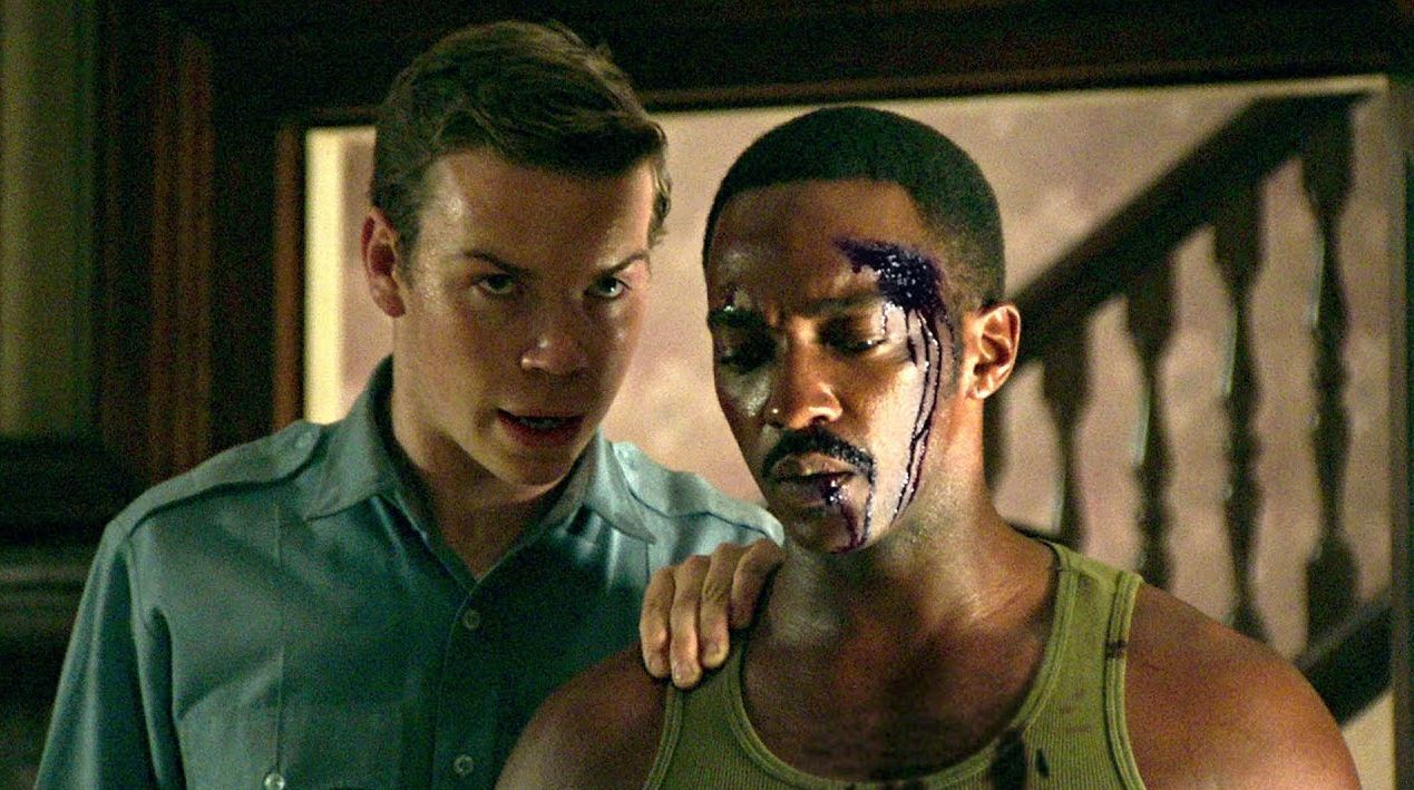 """Will Poulter and Anthony Mackie in """"Detroit"""""""