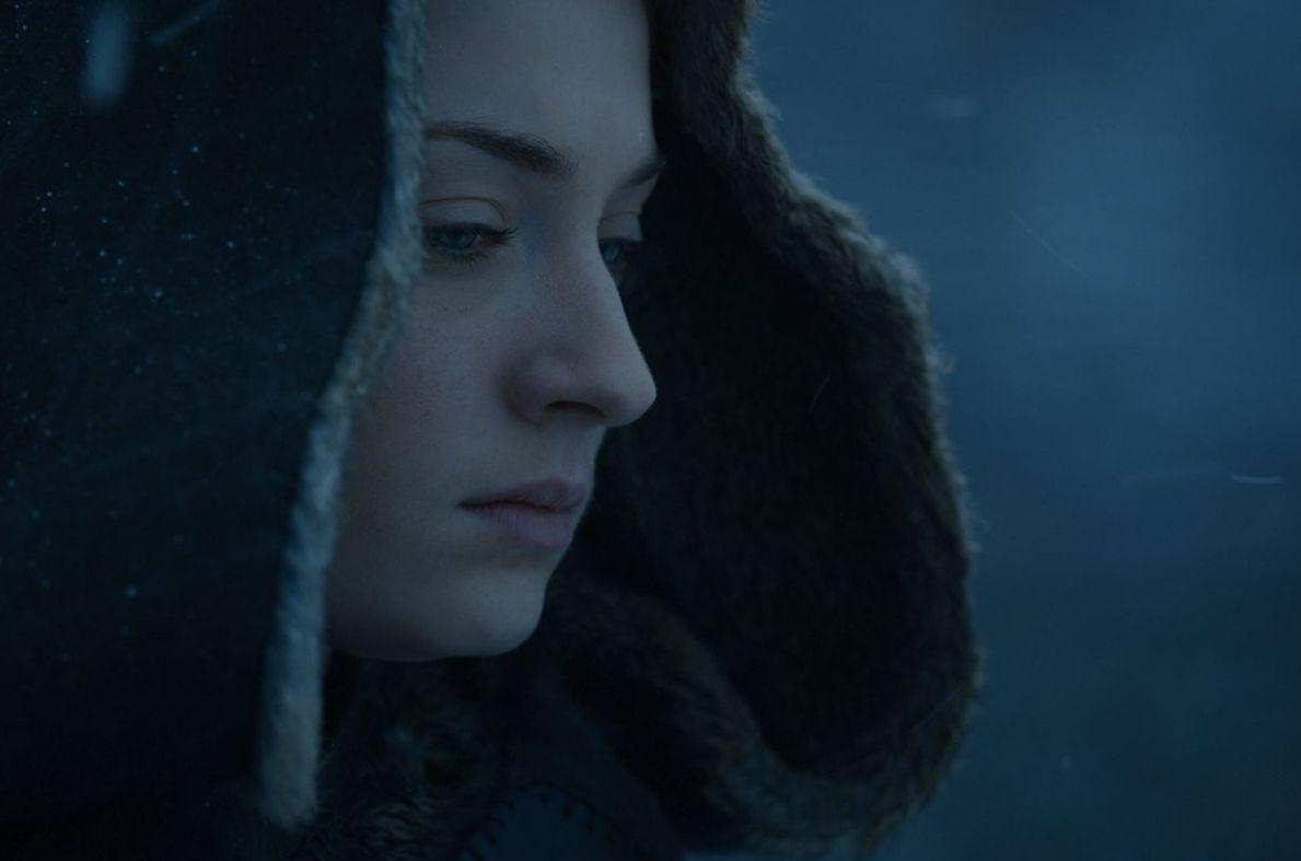 Sansa, plotting at Winterfell