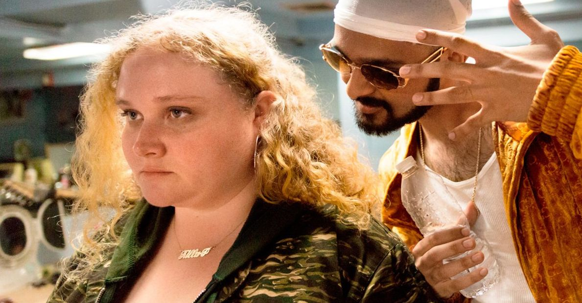 "Danielle Macdonald and Siddharth Dhananjay in ""Patti Cake$"""
