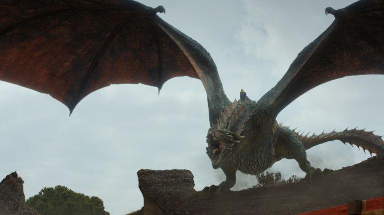 Daenery's and Drogon.