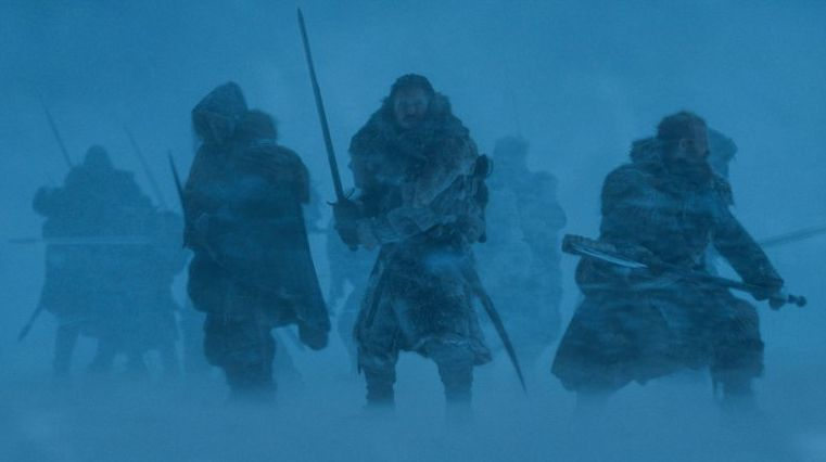 Snow and others prepare for battle