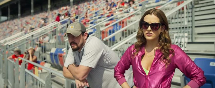 "Channing Tatum and Riley Keough in ""Logan Lucky"""