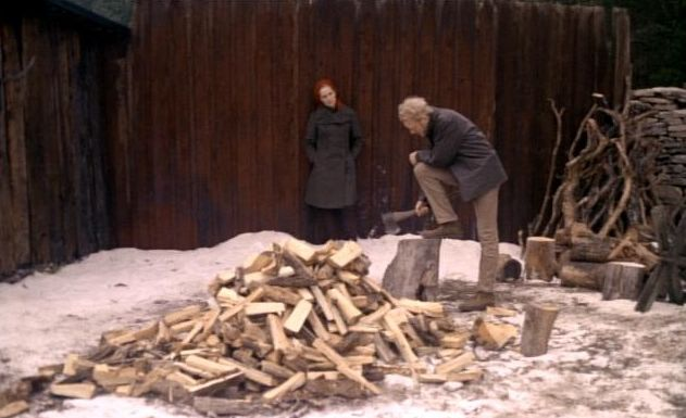 Liv Ullmann and Max von Sydow in The Passion of Anna
