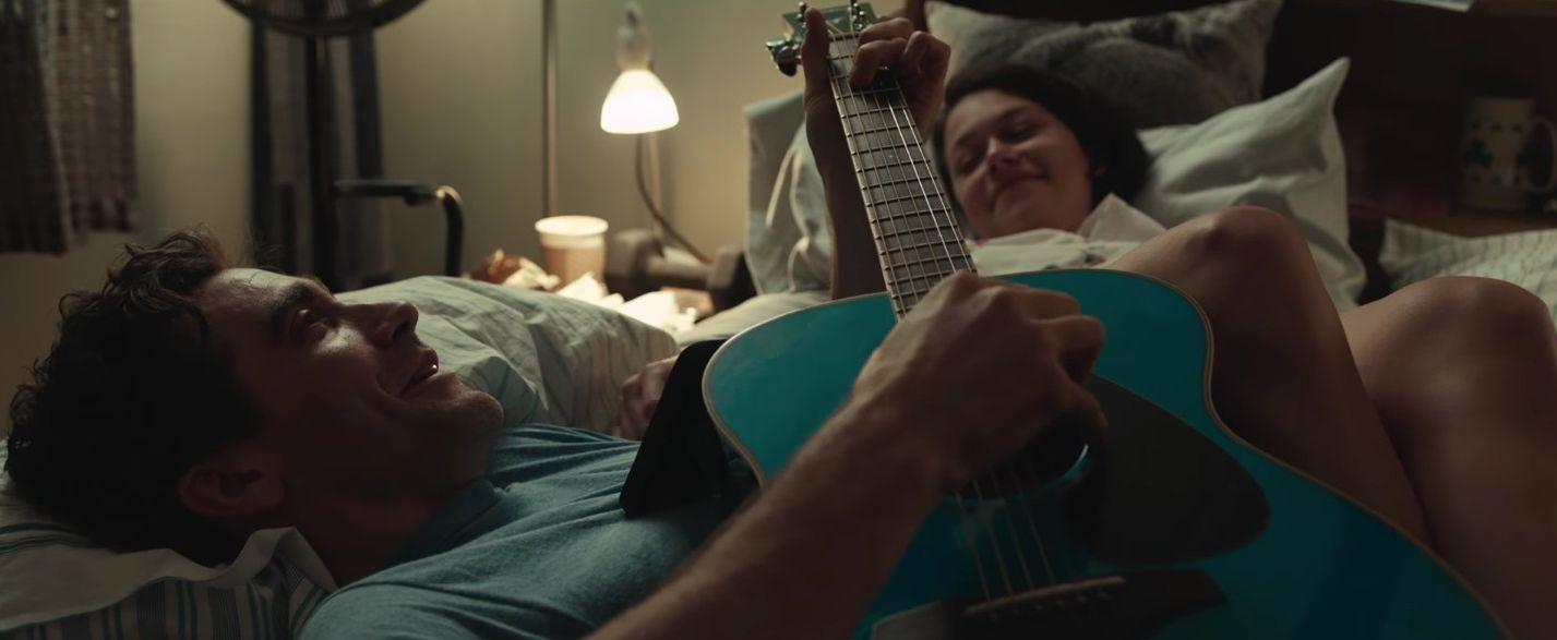 """Jake Gyllenhaal and Tatiana Maslany in """"Stronger"""""""