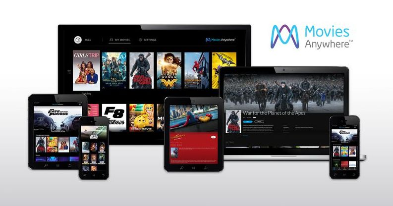 Movies Anywhere across all platforms