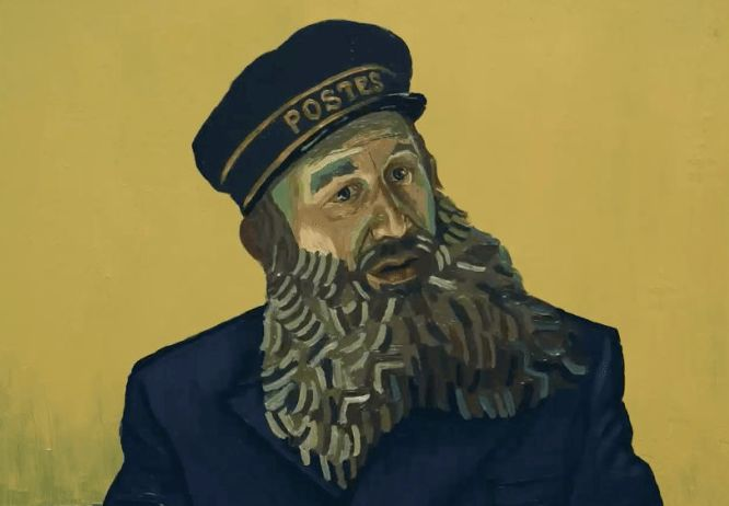 "Chris O'Dowd in ""Loving Vincent"""