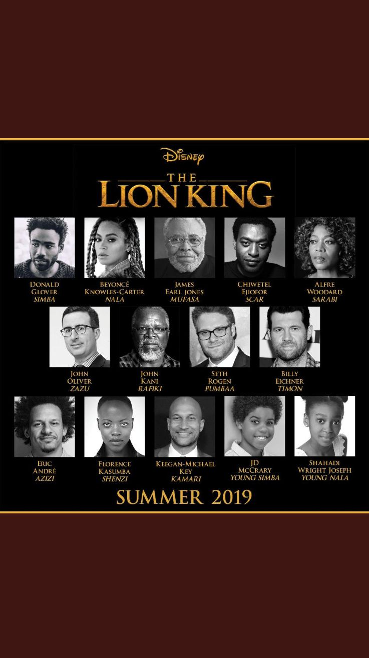 The Lion King cast!