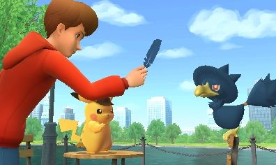 Great Detective Pikachu Game