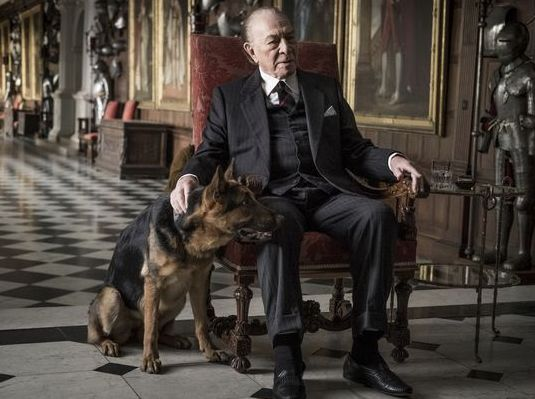 "Christopher Plummer as J. Paul Getty in ""All the Money in the World"""