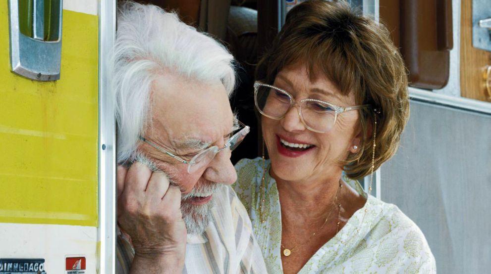 Donald Sutherland and Helen Mirren