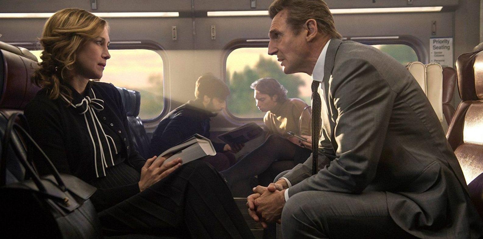 Vera Farmiga and Liam Neeson
