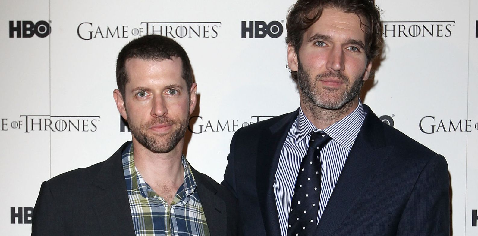 D.B. Weiss (pictured left) and David Benioff (pictured right