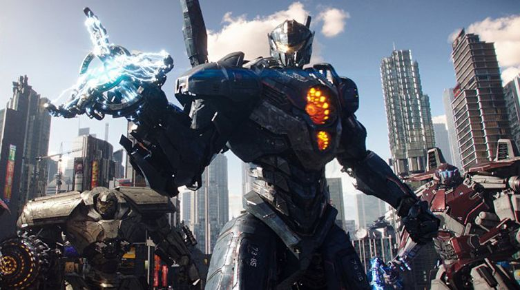Robots from 'Pacific Rim Uprising'
