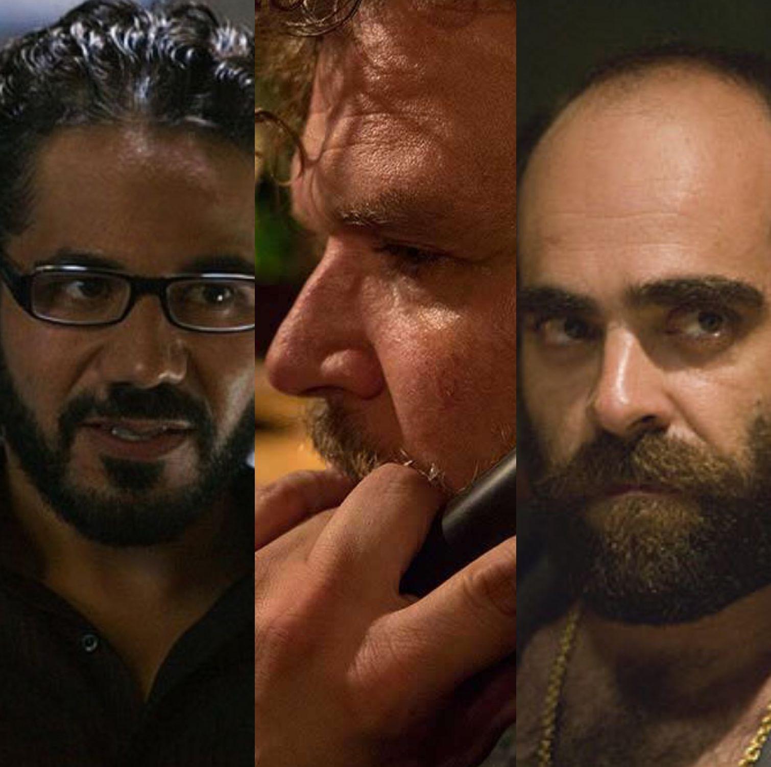 John Ortiz, Yorick van Wageningen, Luis Tosar