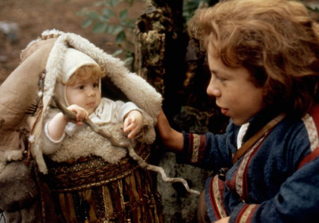 'Willow' - Elora Danan and Willow Ufgood (Warwick Davis)