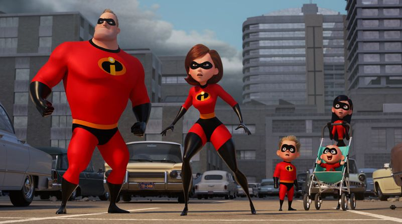 The Parr Family (aka The Incredibles)