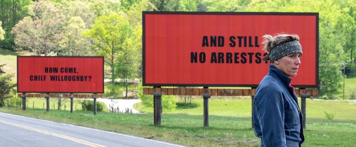 Frances McDormand, 'Three Billboards Outside Ebbing, Missour
