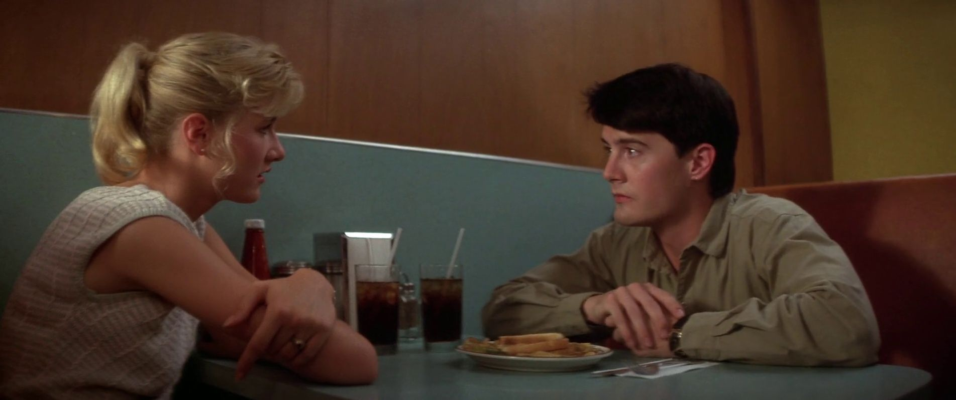 Kyle MacLachlan and Laura Dern, one of the great cinematic p