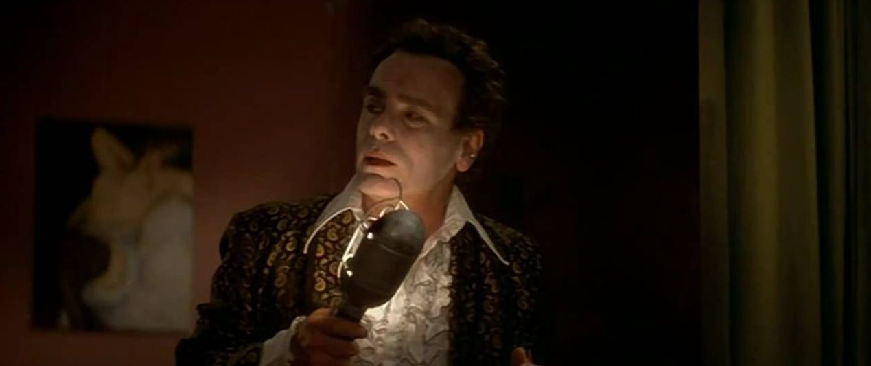 Dean Stockwell gives a haunting serenade.