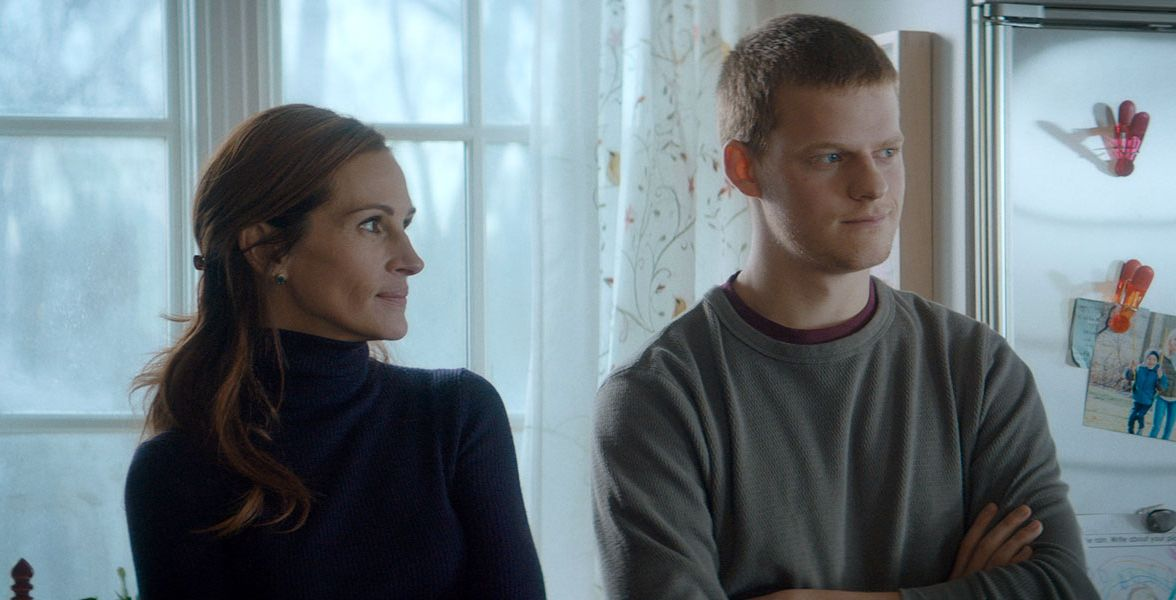 Julia Roberts and Lucas Hedges in 'Ben is Back'
