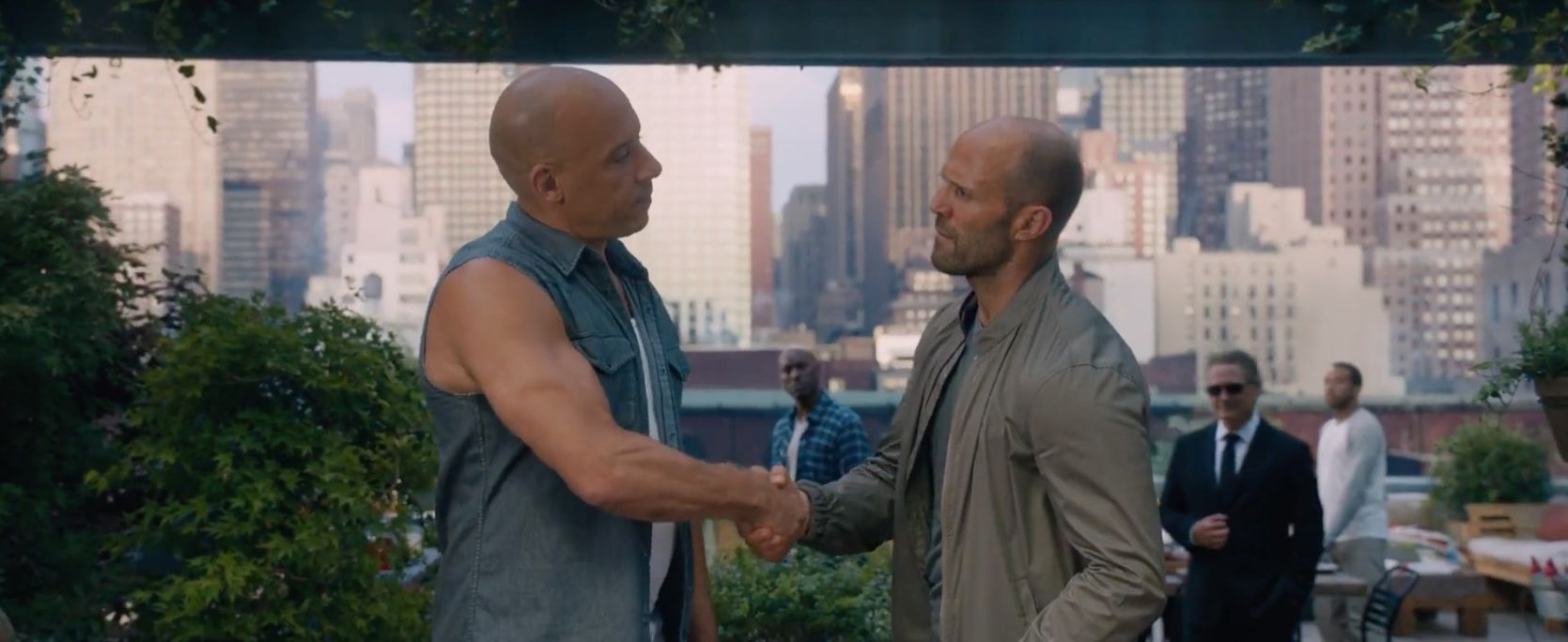 Would Dom shake the hand of someone who killed his friend Ha