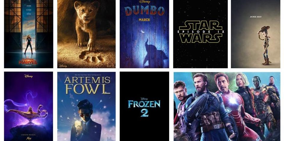 2019 disney preview  avengers  endgame  the lion king  and