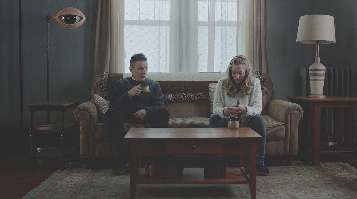 Ethan Hawke and Amanda Seyfried 'First Reformed' A24