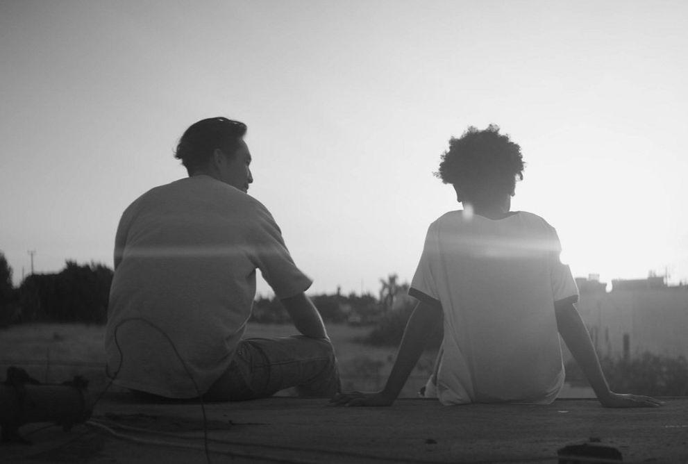 Justin Chon and Simone Baker 'Gook' Samuel Goldwyn Films