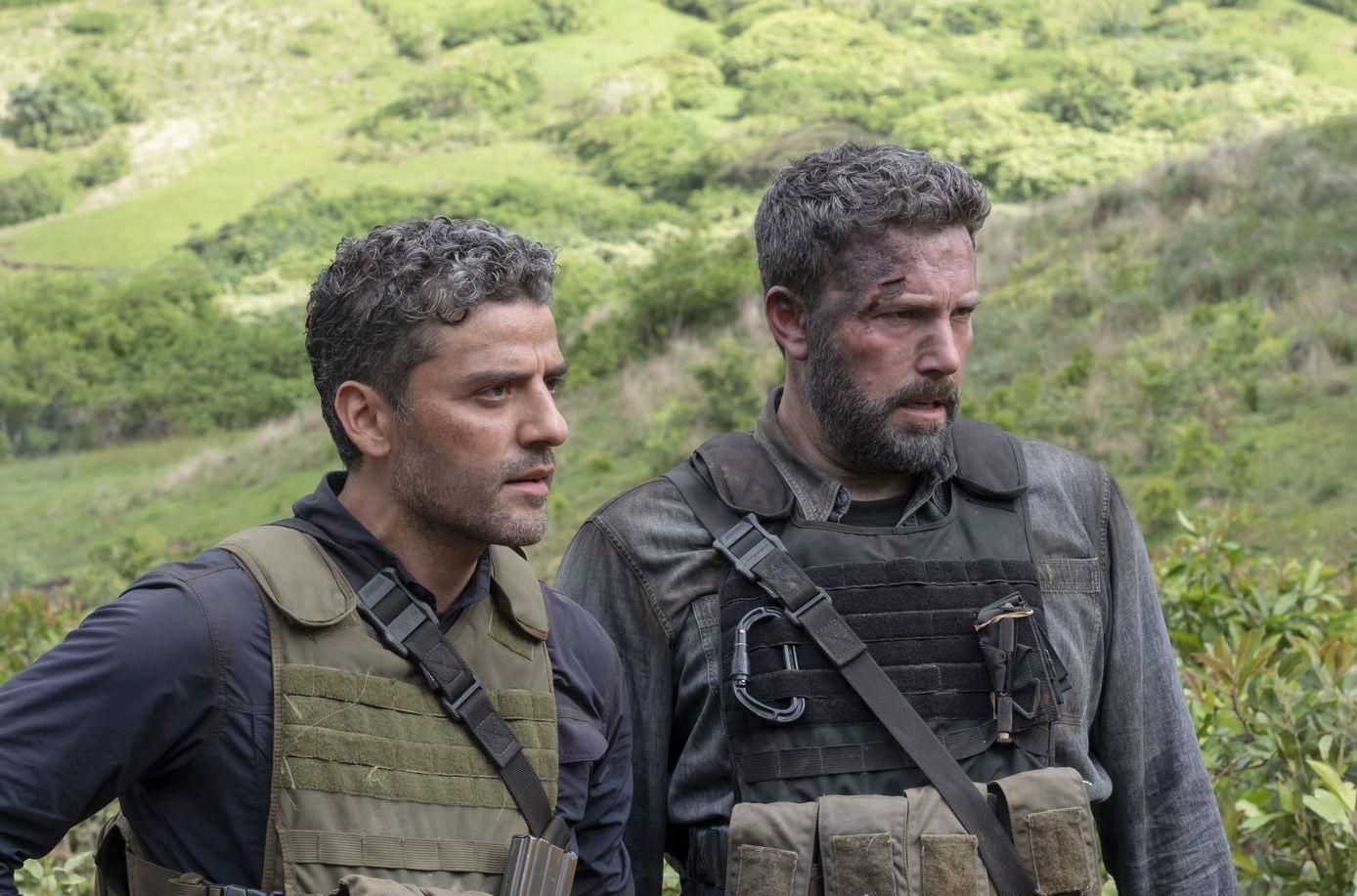 Oscar Isaac and Ben Affleck