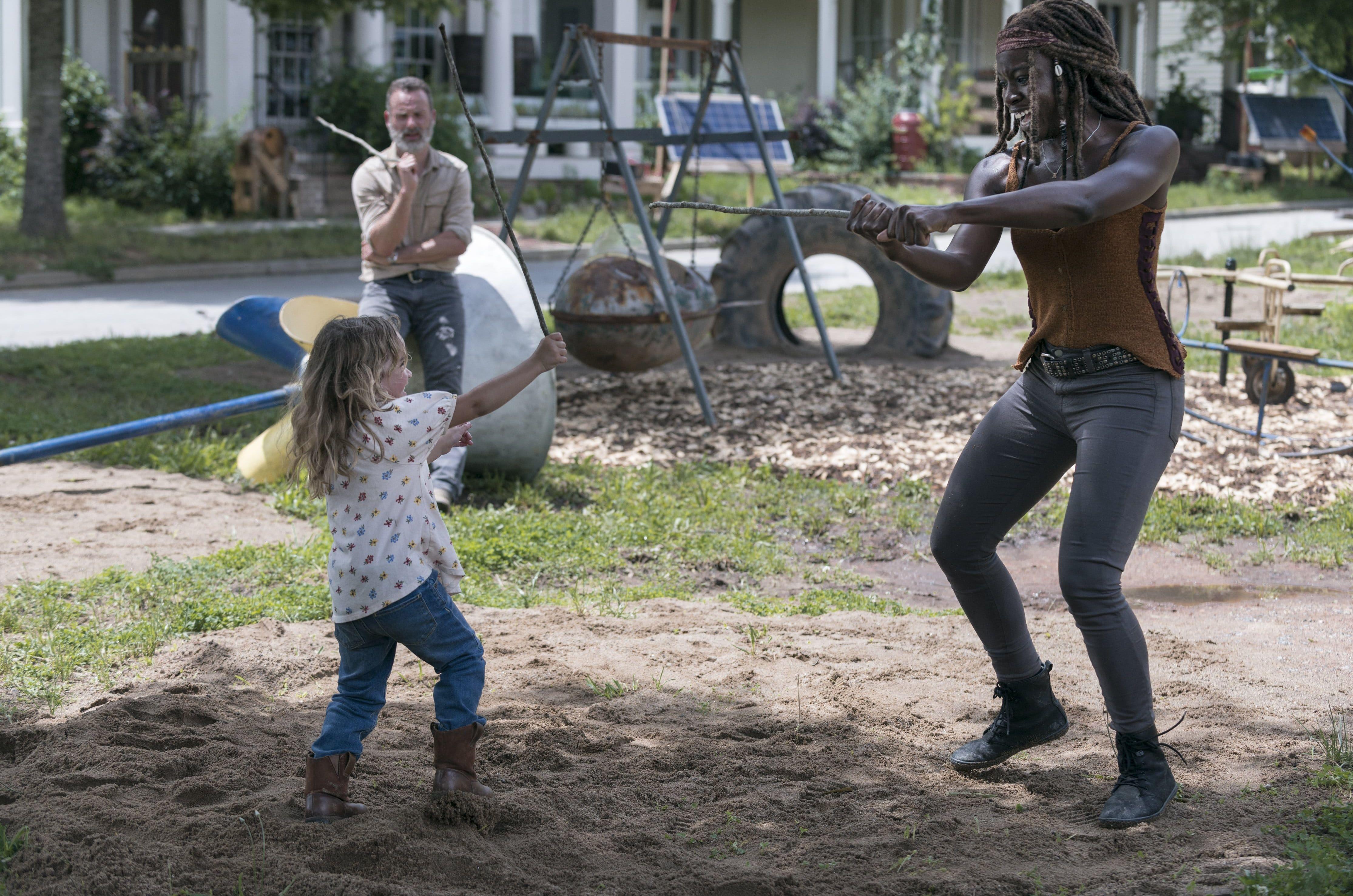 'The Walking Dead' Credit AMC