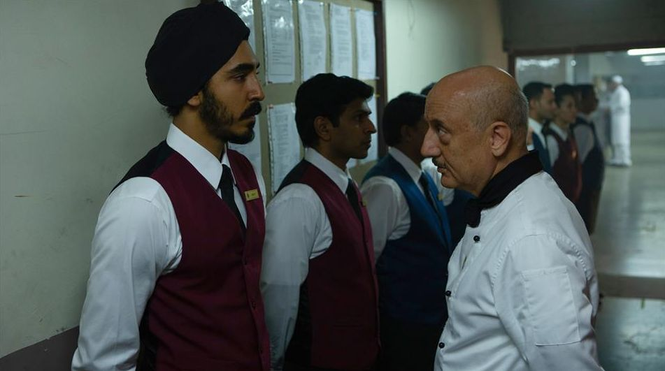 Dev Patel faces up with Anupam Kher in 'Hotel Mumbai'