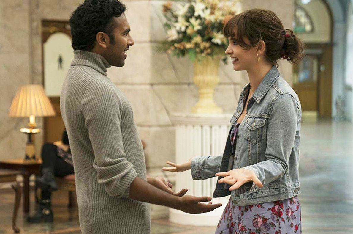 Himesh Patel and Lily James