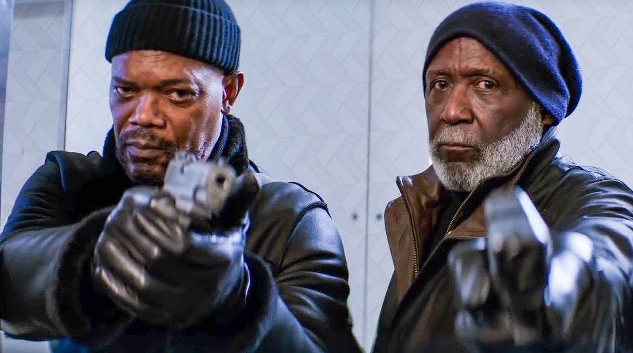 Samuel L. Jackson and Richard Roundtree