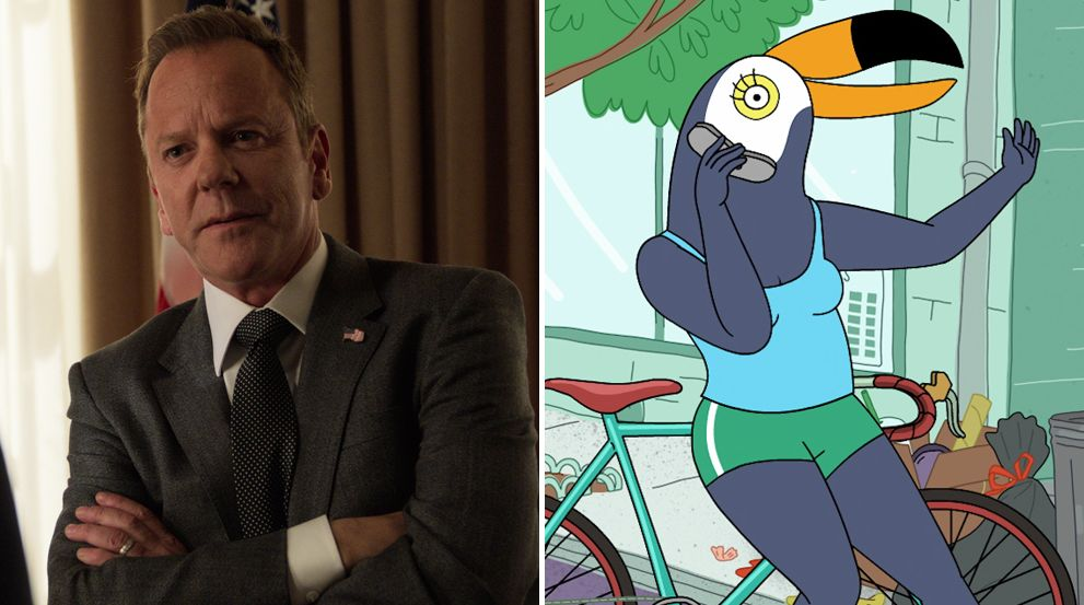 Designated Survivor and Tuca and Bertie
