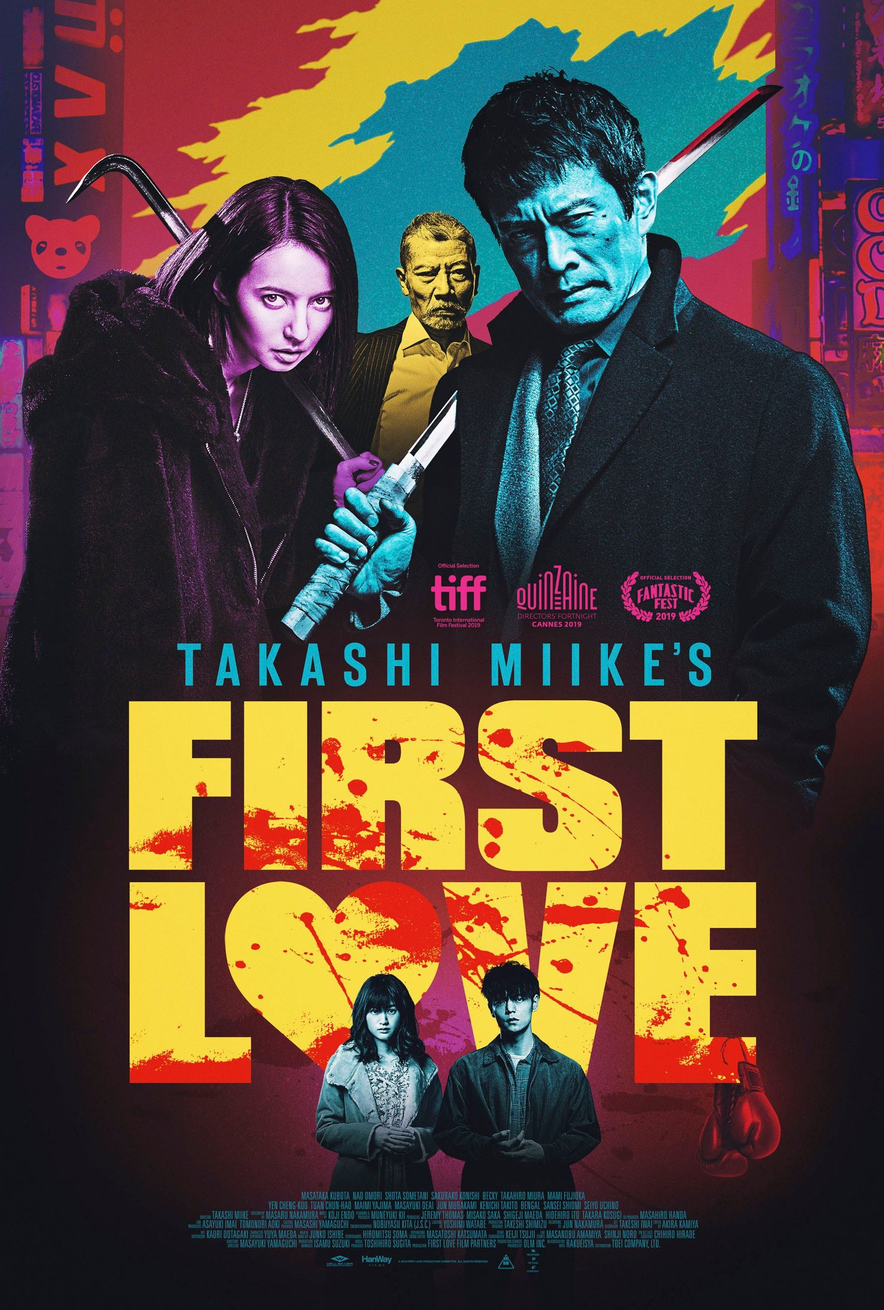 Takashi Miike's 'First Love' poster