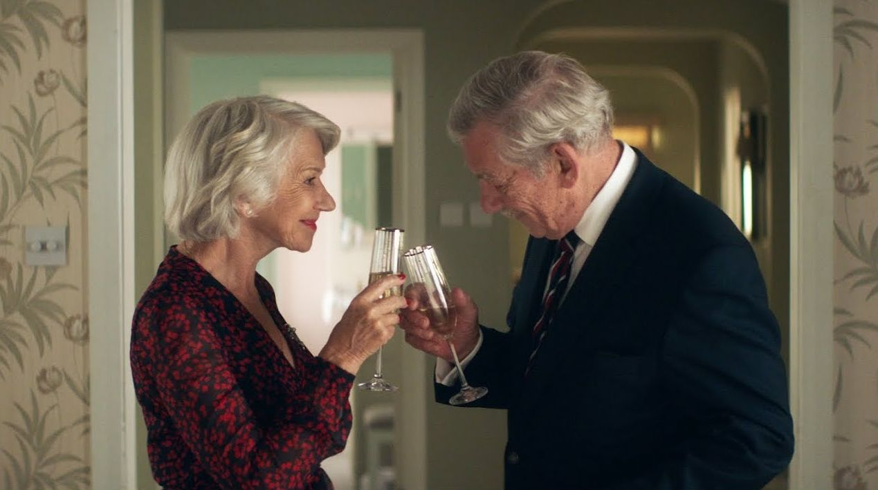 Helen Mirren and Ian McKellen