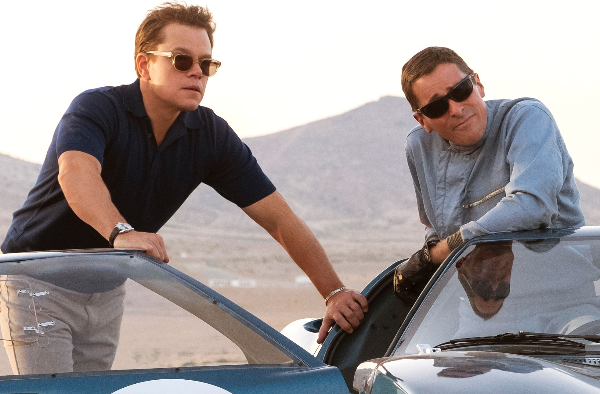 Ford v Ferrari - Matt Damon and Christian Bale
