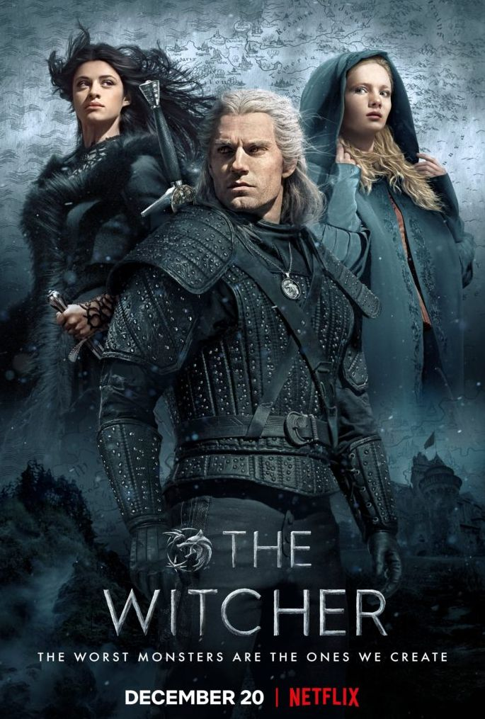 'The Witcher' (2019) Poster