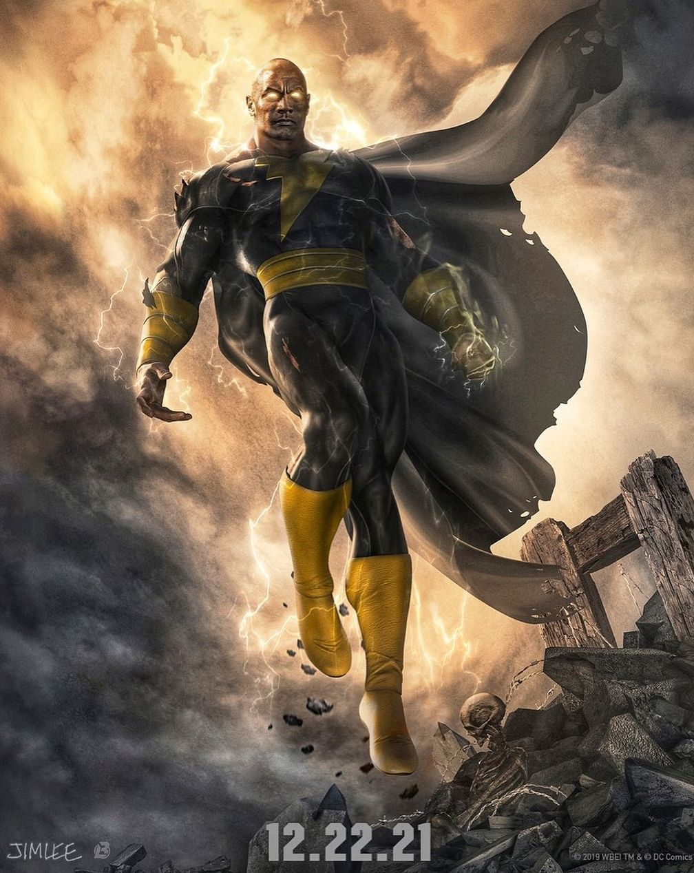 'Black Adam' Poster, Dwayne Johnson