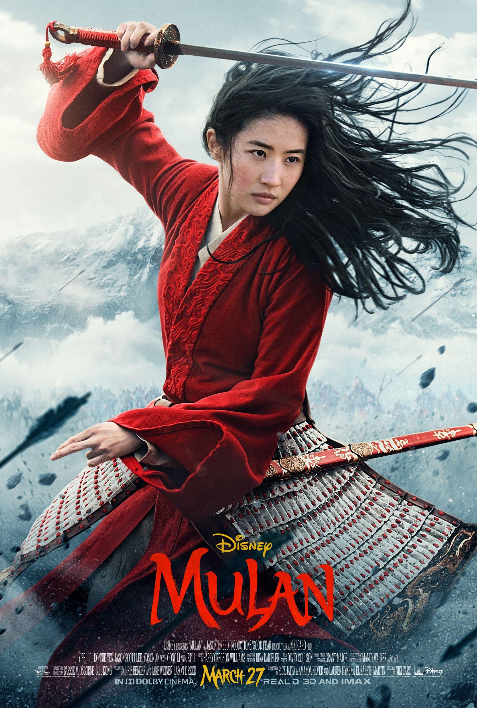 Disney's 'Mulan' Poster