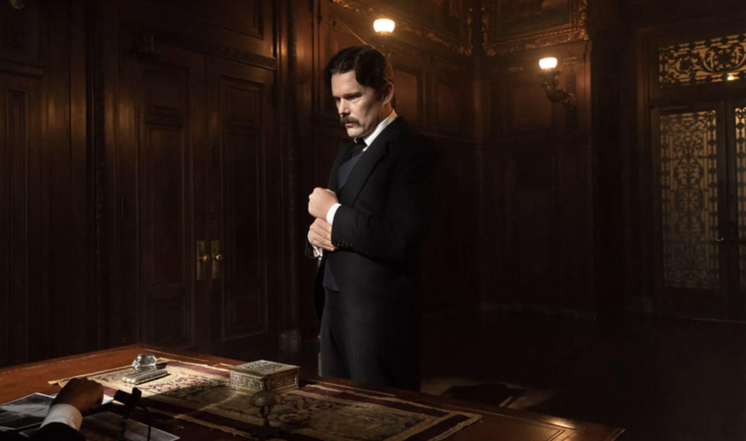 Ethan Hawke as Nikola Tesla