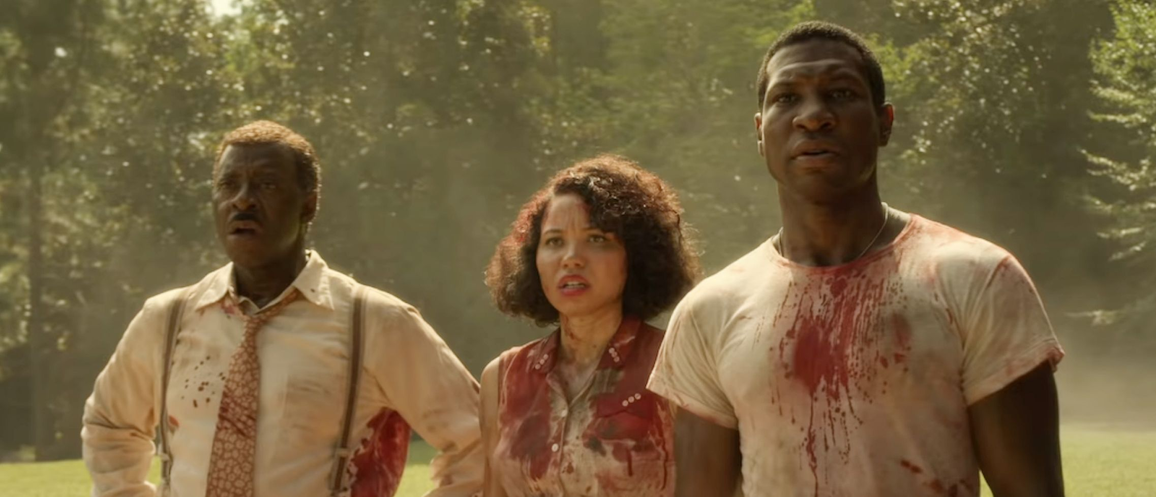 Jonathan Majors, Jurnee Smollett and Courtney B. Vance - 'Lo