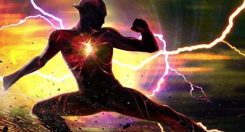 The Flash concept art