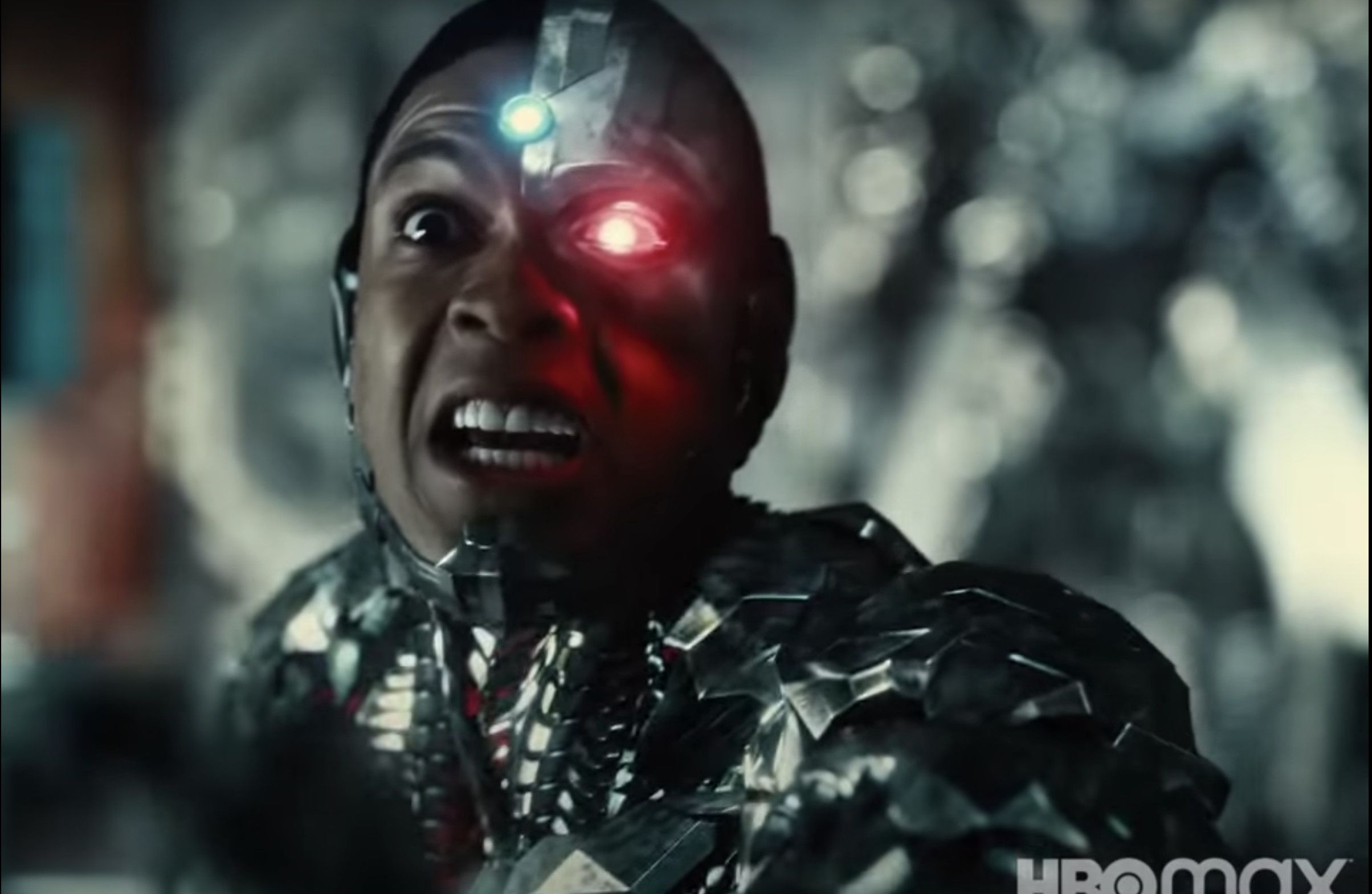 Cyborg, Victor, Sees His Father Die