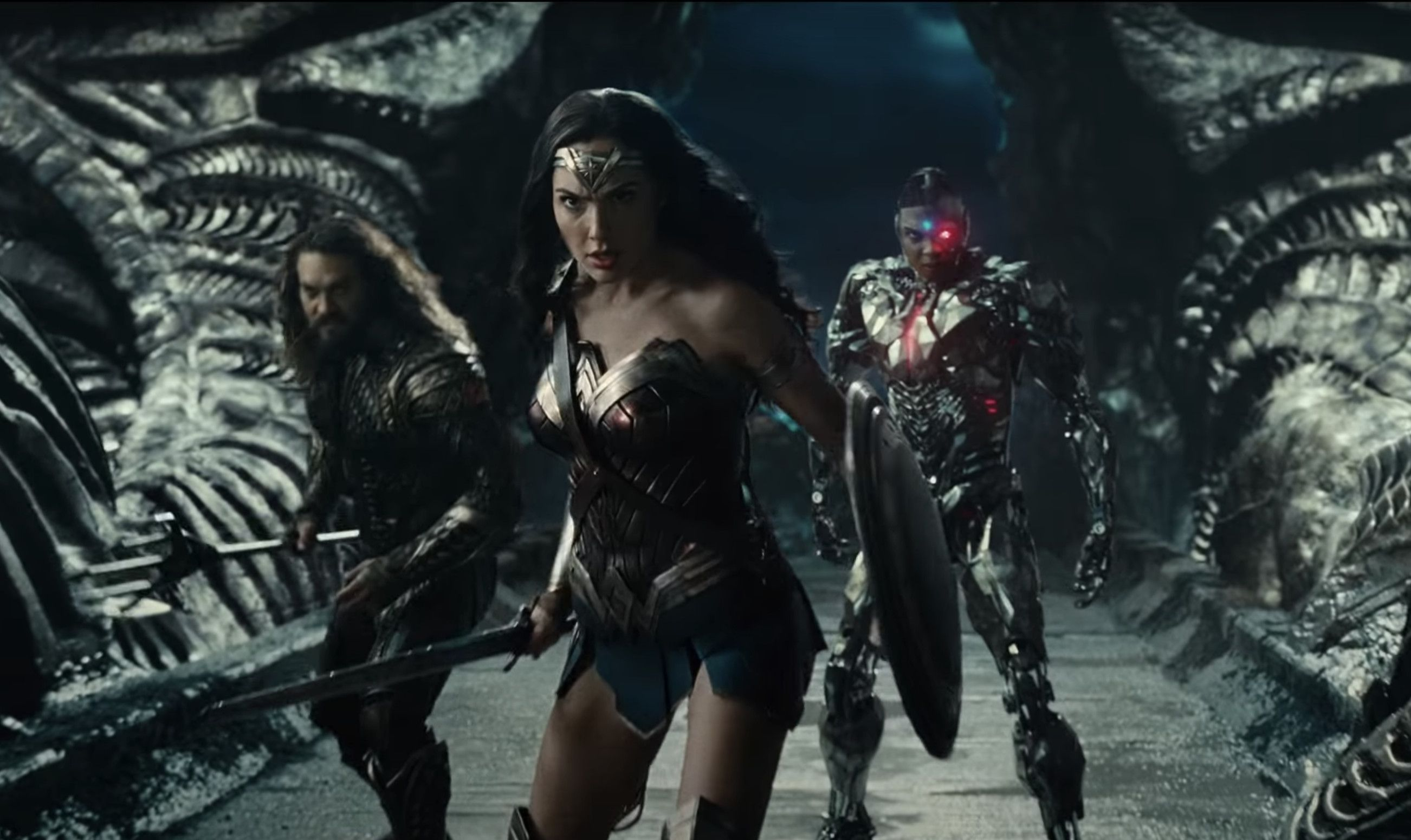 2017 Justice League Trailer Shot