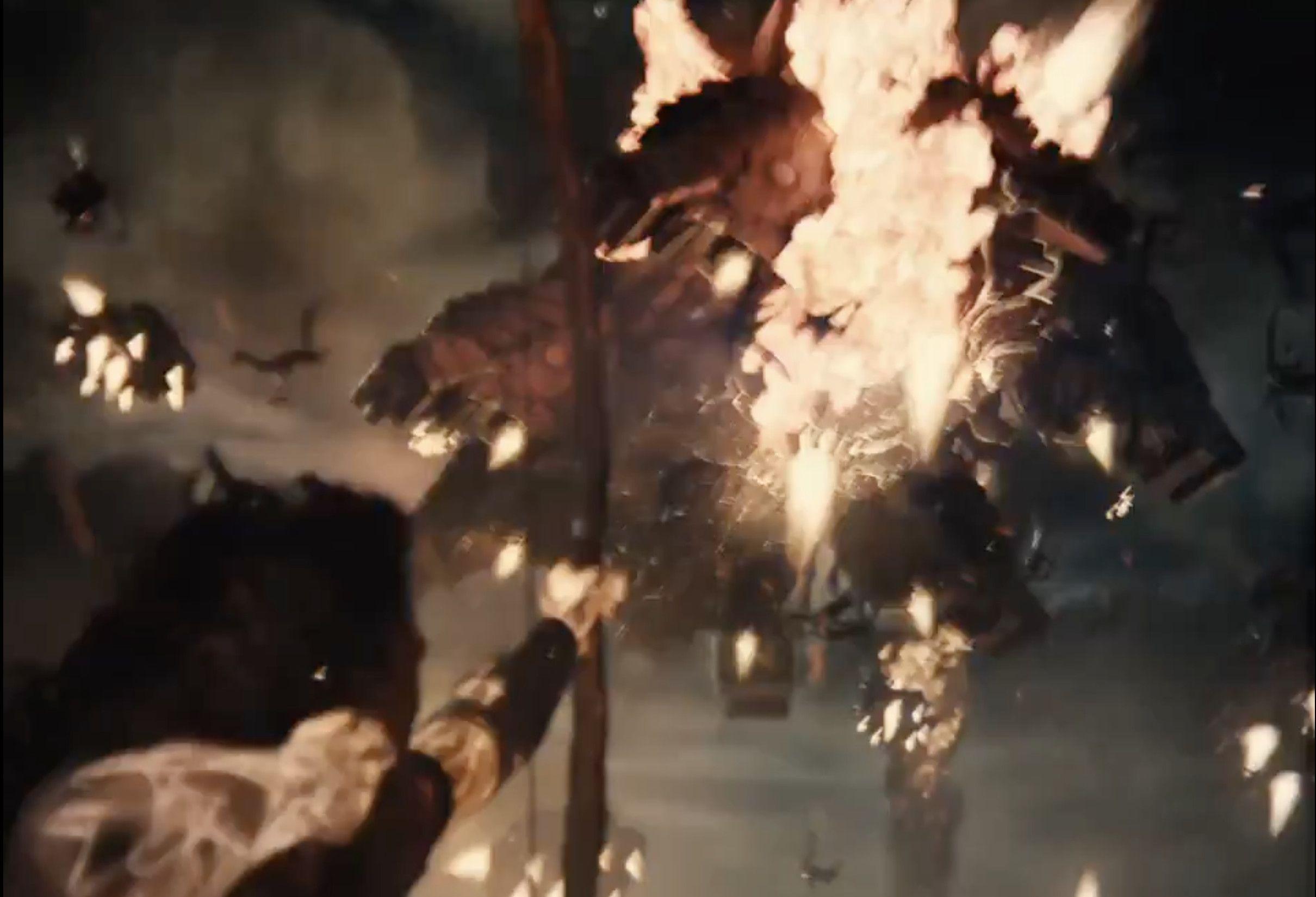 Artemis takes down an Apokoliptian Ship