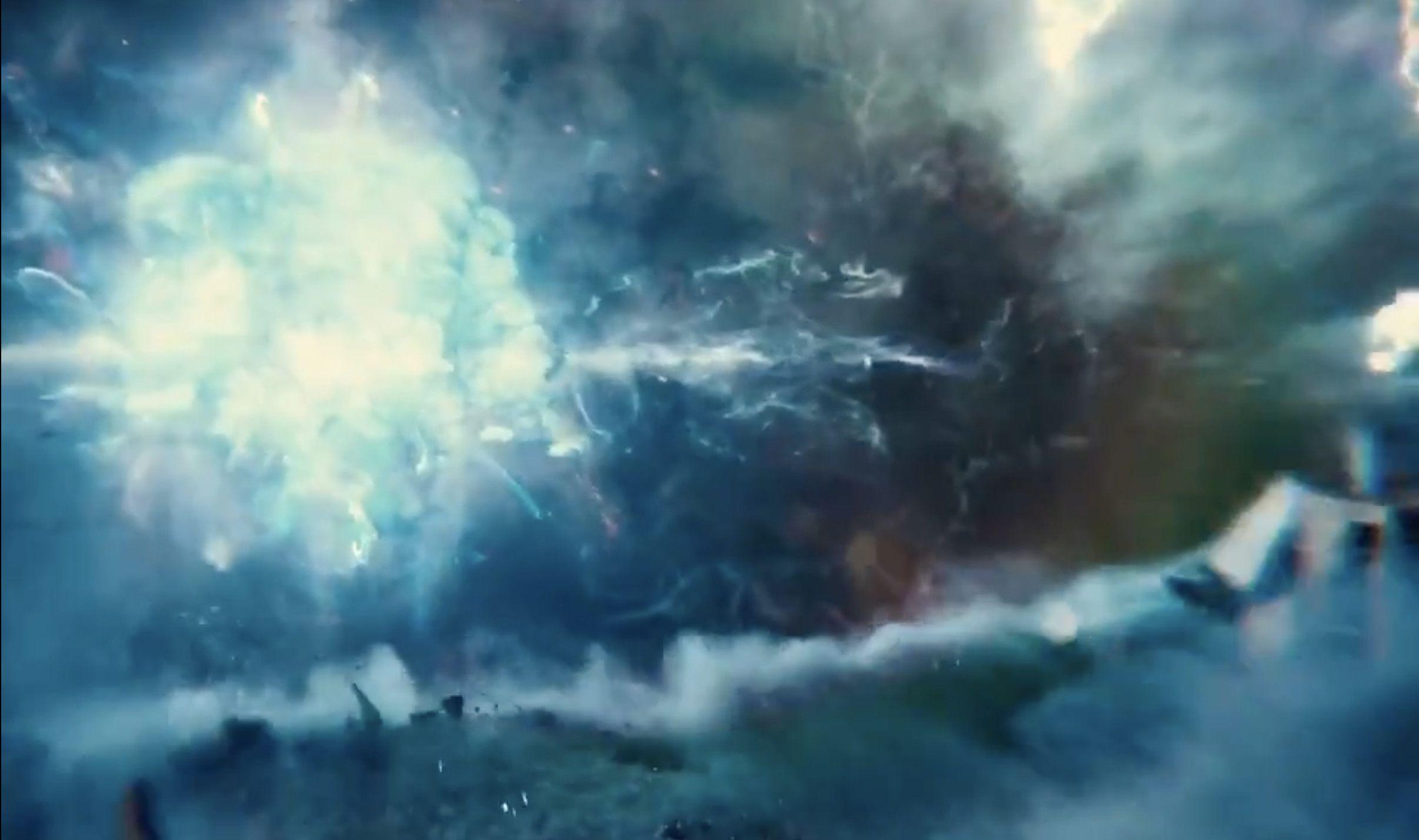 Explosion reverses